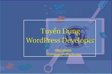 Tuyển dụng Wordpress Developer
