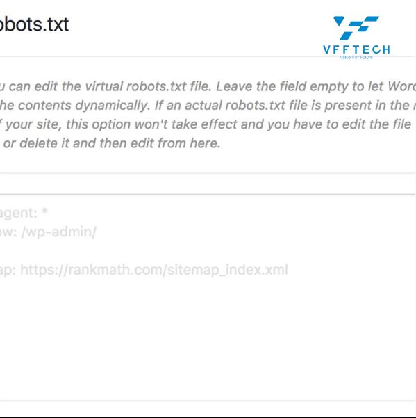 Edit-Robotos-txt-file