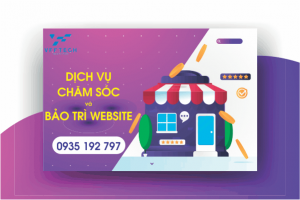 cham soc website