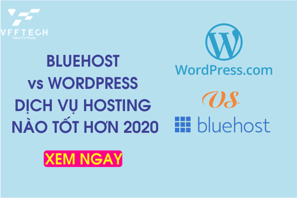 bluehost vs wordpress