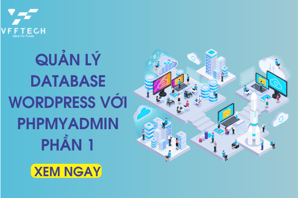 quan ly database wordpress