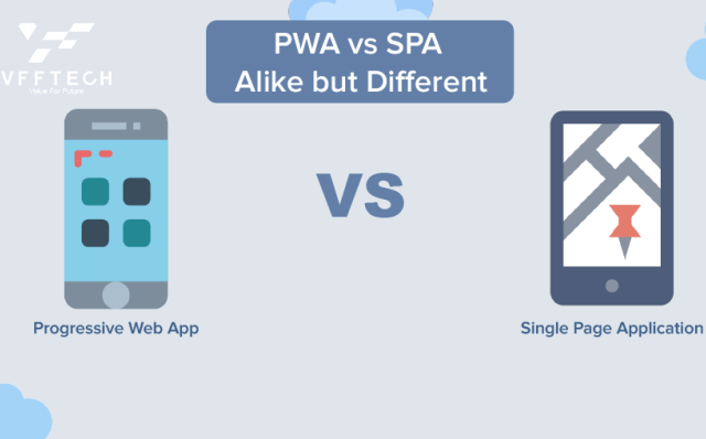 Single Page App SPA vs Progressive Web App PWA